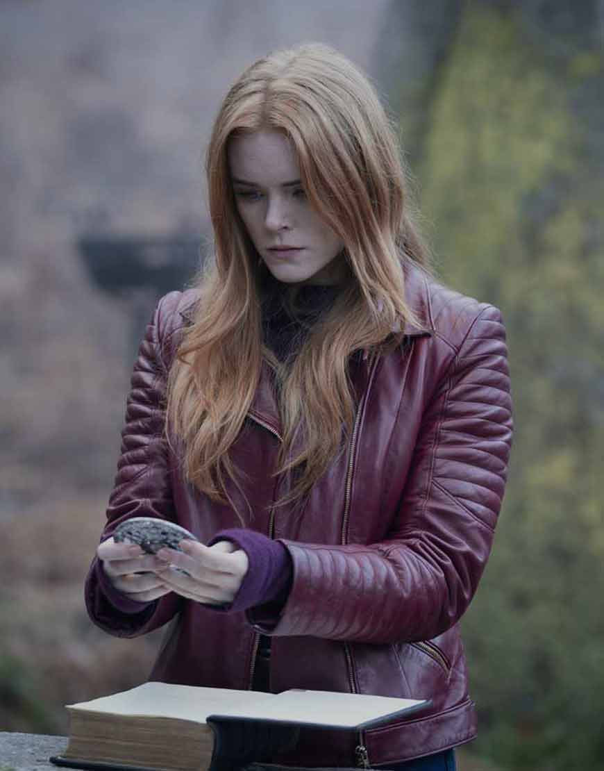 Abigail-Cowen-Fate-The-Winx-Saga-Bloom-Leather-Jacket