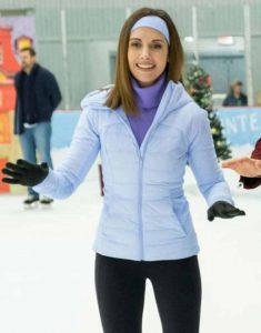 Alison-Brie-Happiest-Season-Sloane-Blue-Puffer-Jacket