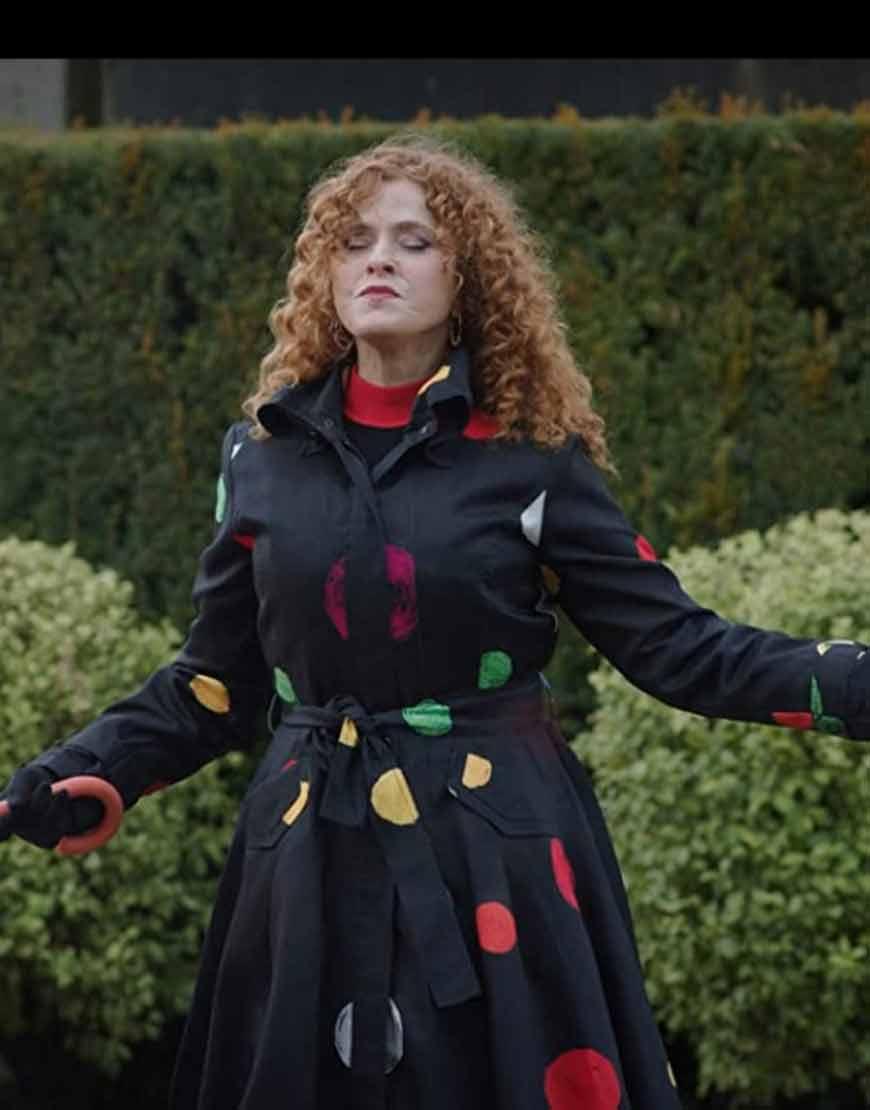 Bernadette-Peters--Zoey's-Extraordinary-Playlist-(2020)-Black-Coat