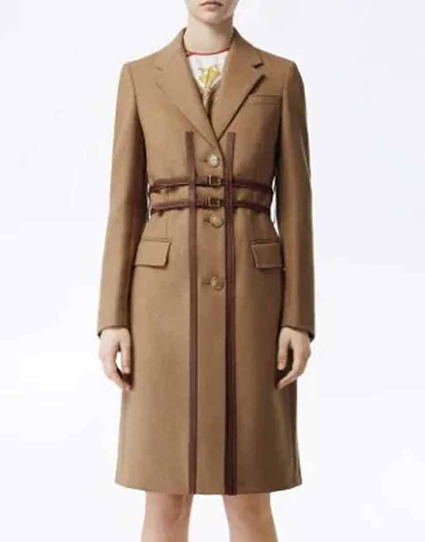 Darby-Carter-Love-Life-Anna-Kendrick-Brown-Double-Breasted-Trench-Coat
