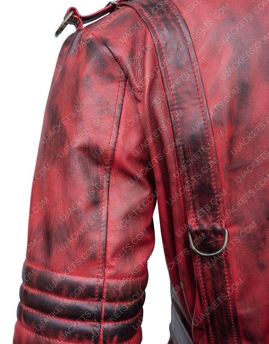 Fallout 4 Nuka Raider Maxson's Red Battle Coat