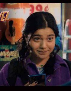 Iman-Vellani-Ms.-Marvel-2021-Kamala-Khan-Corduroy-Purple-Jacket