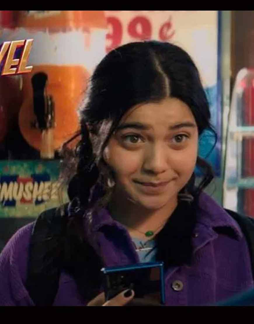 Iman-Vellani-Ms.-Marvel-2021-Kamala-Khan-Corduroy-Purple-Jacket