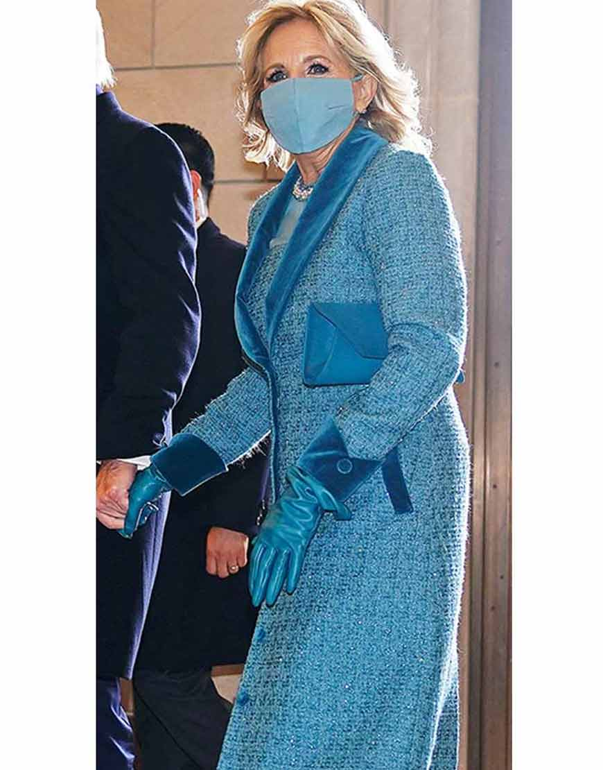Jill-Biden-Tweed-Blue-Coat