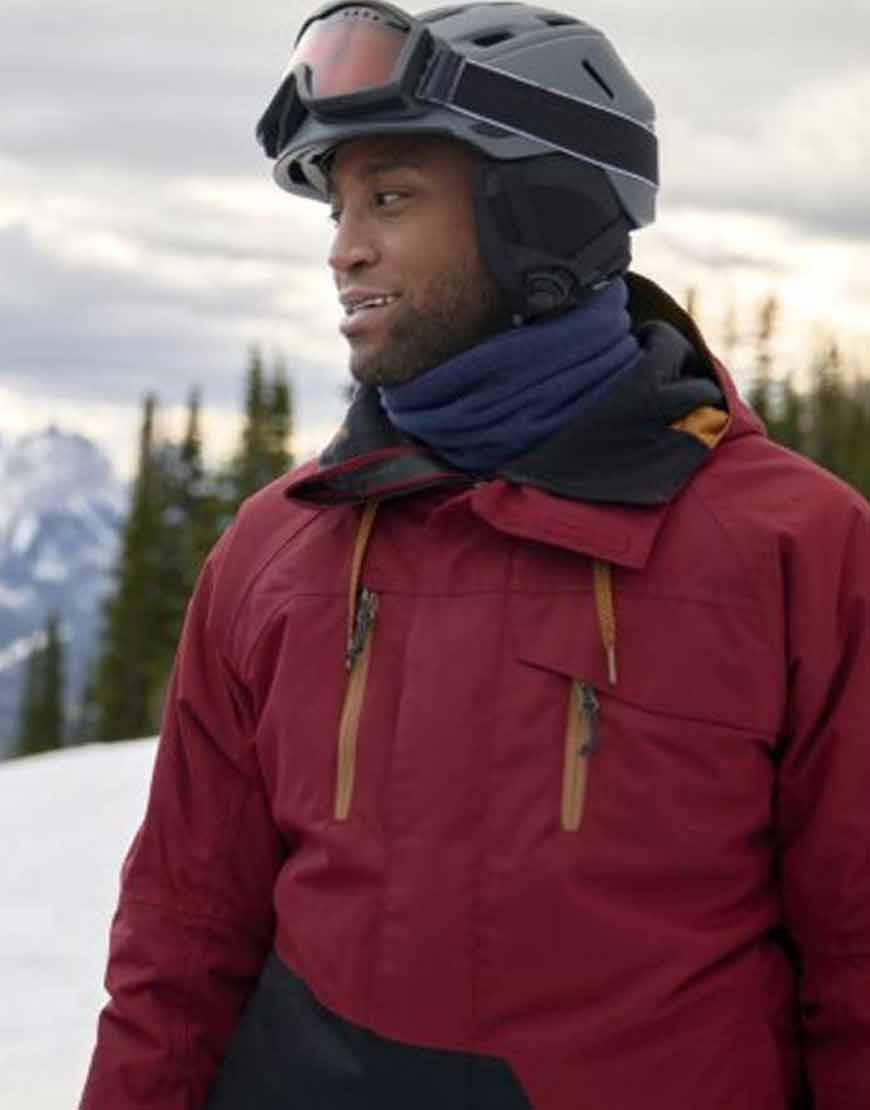 Joe-A-Winter-Getaway-Brooks-Darnell-Maroon-Hooded-Jacket