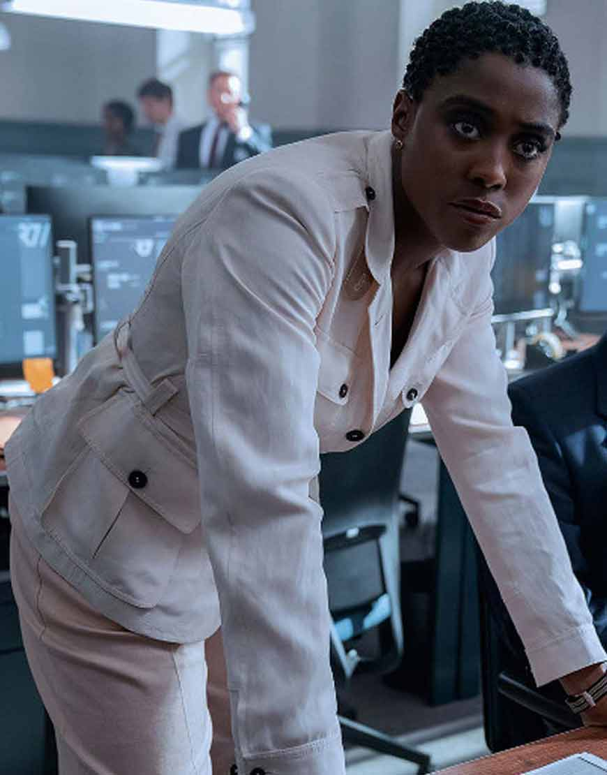Lashana-Lynch-No-Time-to-Die--Nomi-White-Coat
