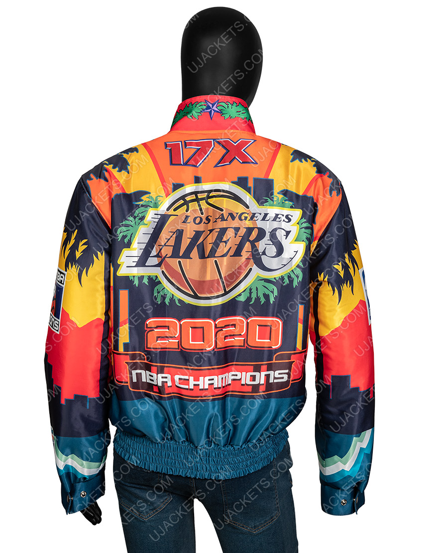 Los Angeles Lakers Championship 2020 Leather Jacket
