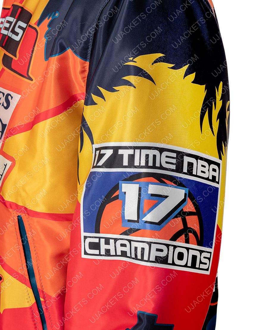 Los Angeles Lakers Jeff Hamilton Championship Jacket