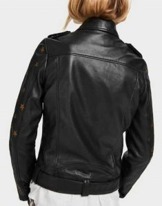 Mary-Hamilton-Batwoman-Gold-Star-Black-Leather-Jacket