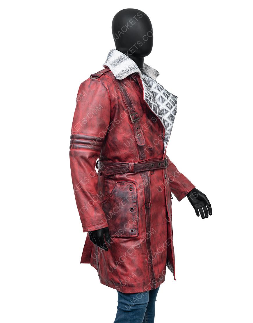 Maxson's Battle Fallout 4 Nuka Raider Leather Trench Coat
