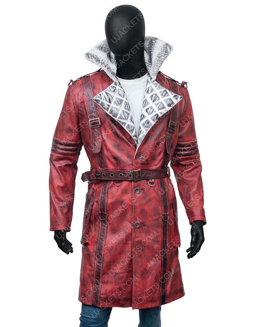 Maxson's Battle Fallout 4 Nuka Raider Red Leather Coat