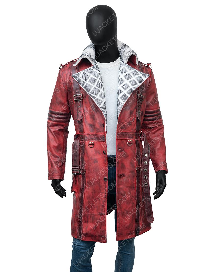 Maxson's Battle Fallout 4 Nuka Raider Red Trench Coat