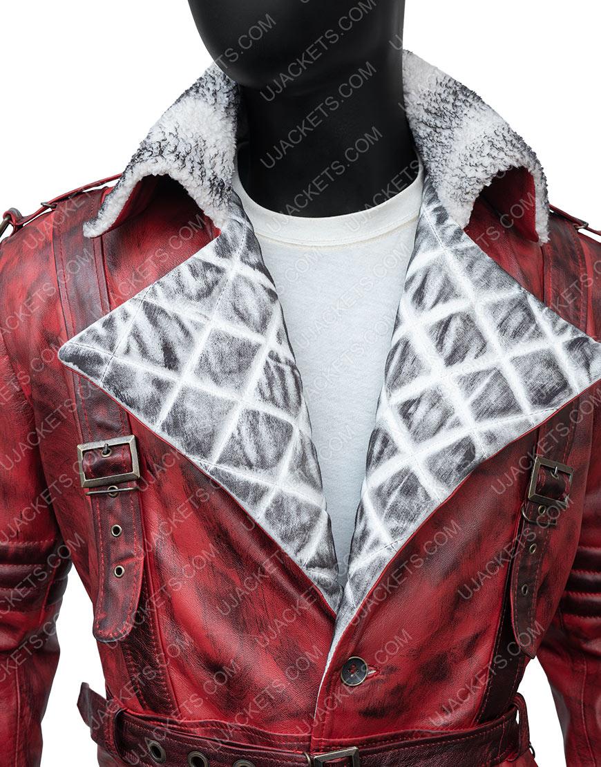 Maxson's Battle Fallout Nuka Raider Leather Trench Coat
