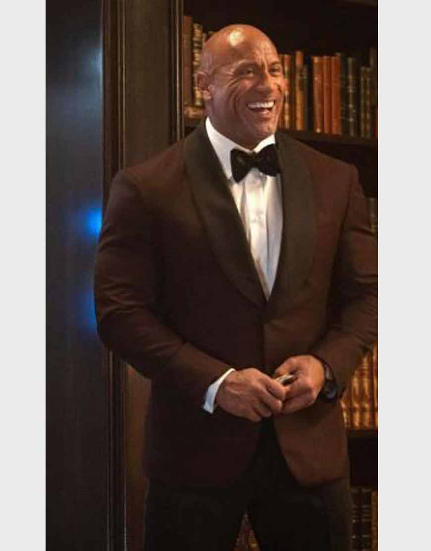 Red-Notice-Dwayne-Johnson-Brown-Blazer
