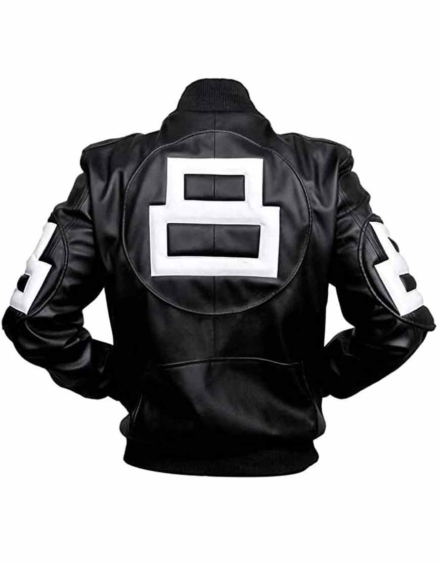 Seinfeld-Michael-Hoban-8-Ball-Black-Bomber-Leather-Jacket
