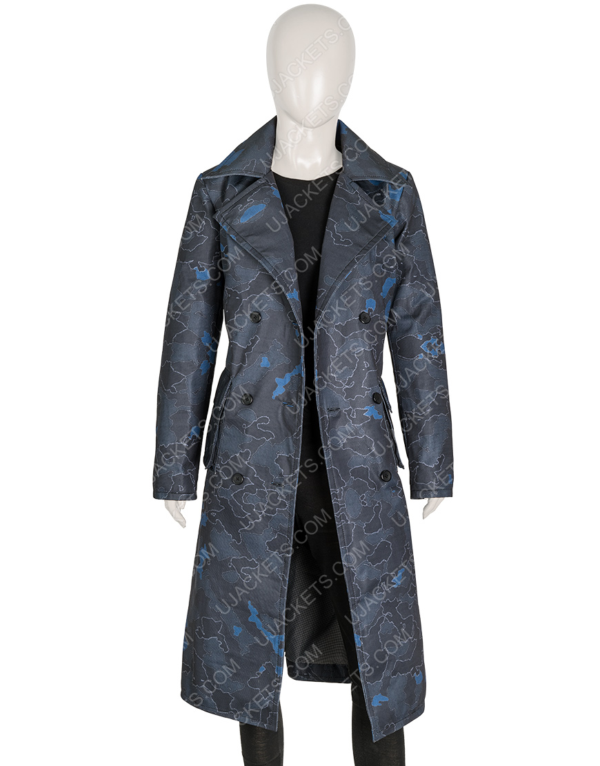 The Equalizer 2021 Queen Latifah Black Trench Coat