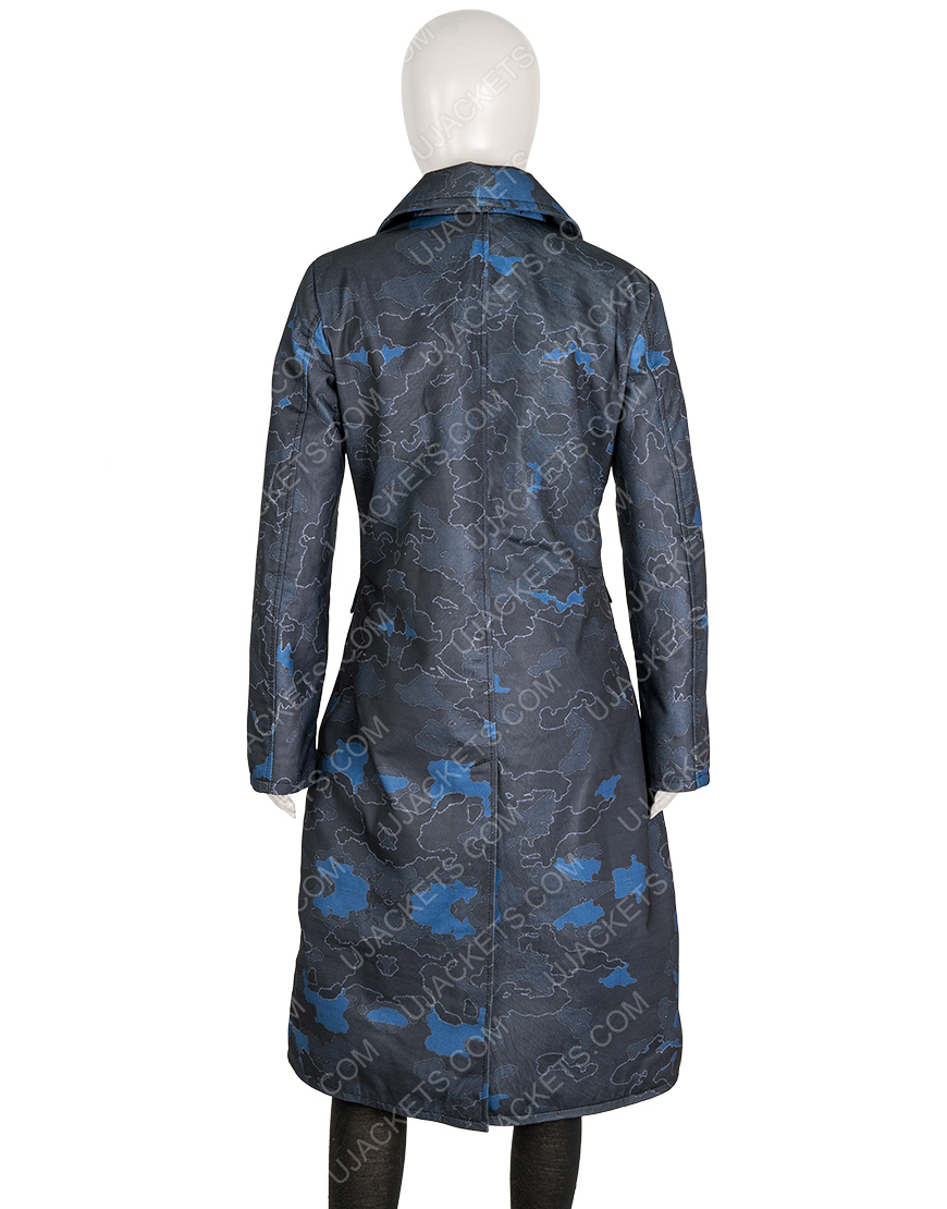 The Equalizer 2021 Queen Latifah Trench Coat