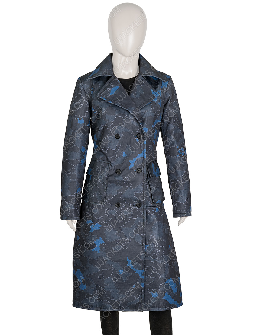 The Equalizer Queen Latifah Trench Coat