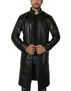 The Matrix Keanu Reeves Trench Coat