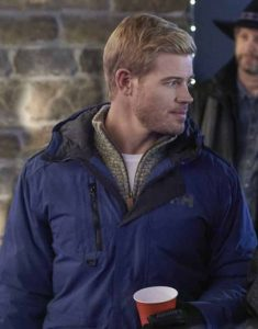 Trevor-Donovan-Two-For-The-Win-Justin-Blue-Hooded-Jacket