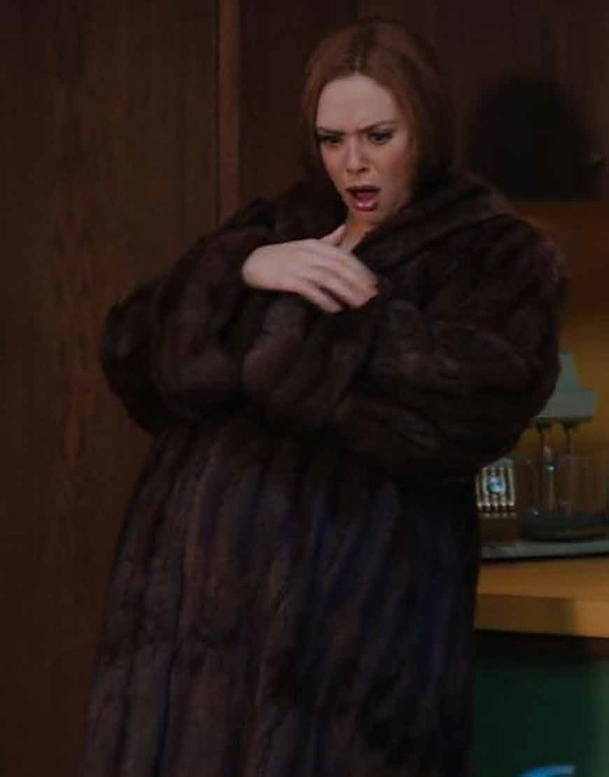 Wanda-Maximoff-WandaVision-Shearling-Brown-Coat