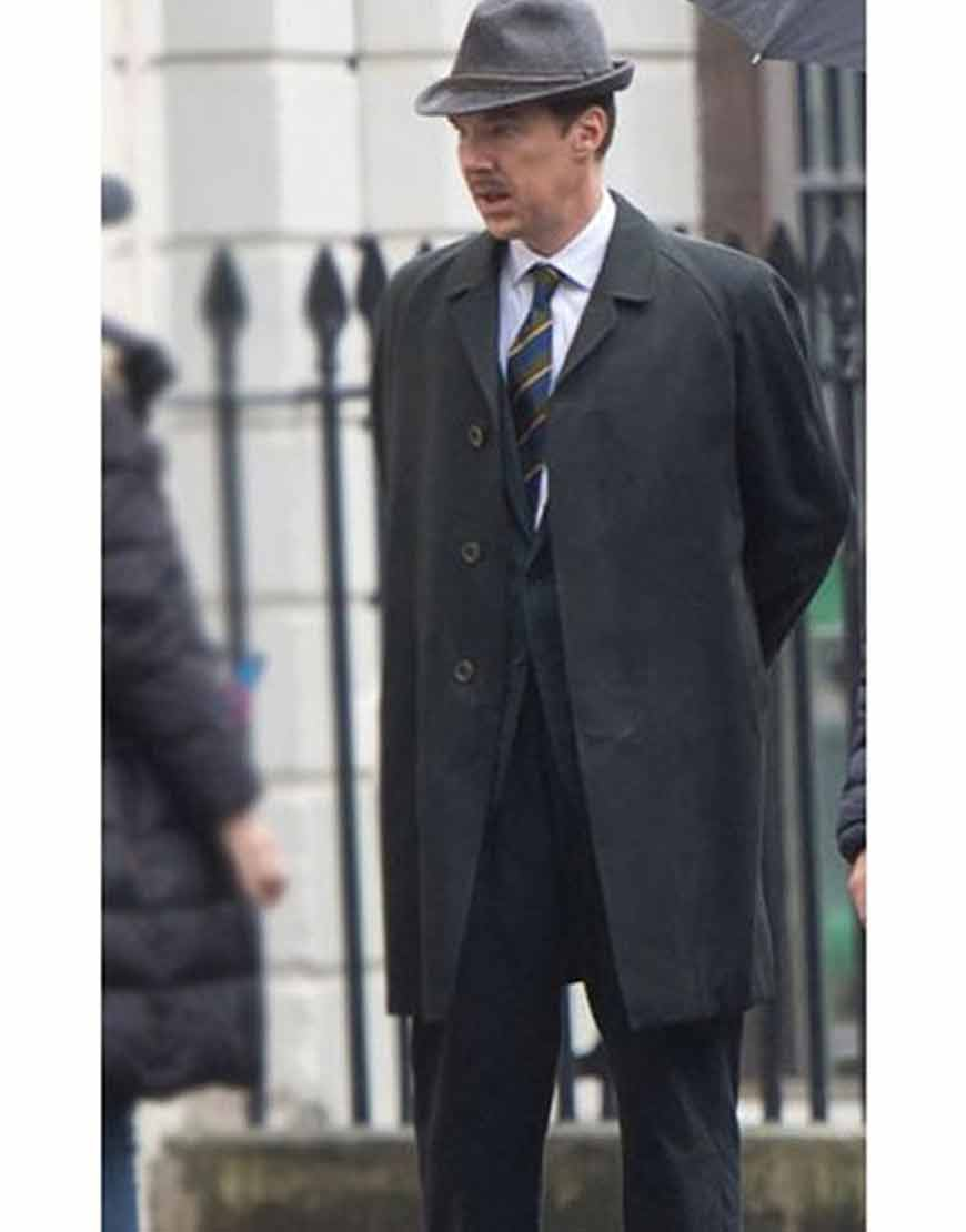 Benedict-Cumberbatch-The-Courier-2021-Trench-Greville-Wynne-Coat