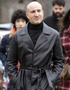 Black-Leather-Long-Shashi-Rami-The-Drowning-2021-Coat