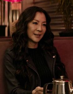 Boss-Level-2021-Dai-Feng-Michelle-Yeoh-Black-Leather-Jacket