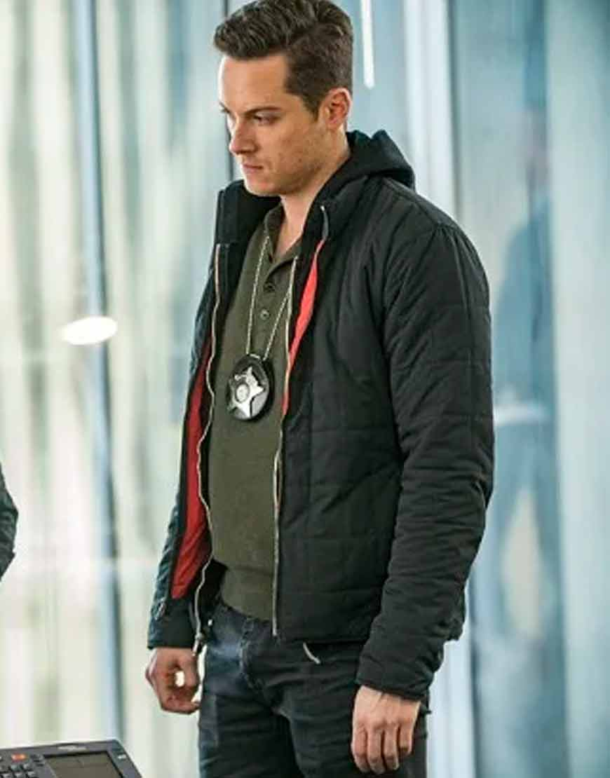 Chicago-P.D.-Jay-Halstead-Black-Hooded-Jacket