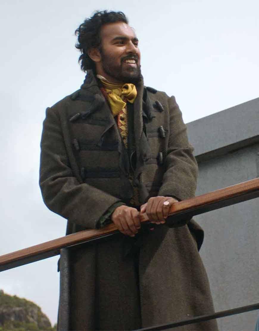 Emery-Staines-The-Luminaries-2021-Himesh-Patel-Tweed-Coat