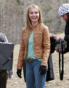 Heartland-Amy-Fleming-Brown-Leather-Jacket