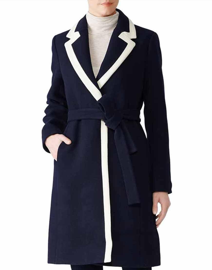Meghan-Markle-Blue-Belted-Wrap-Coat