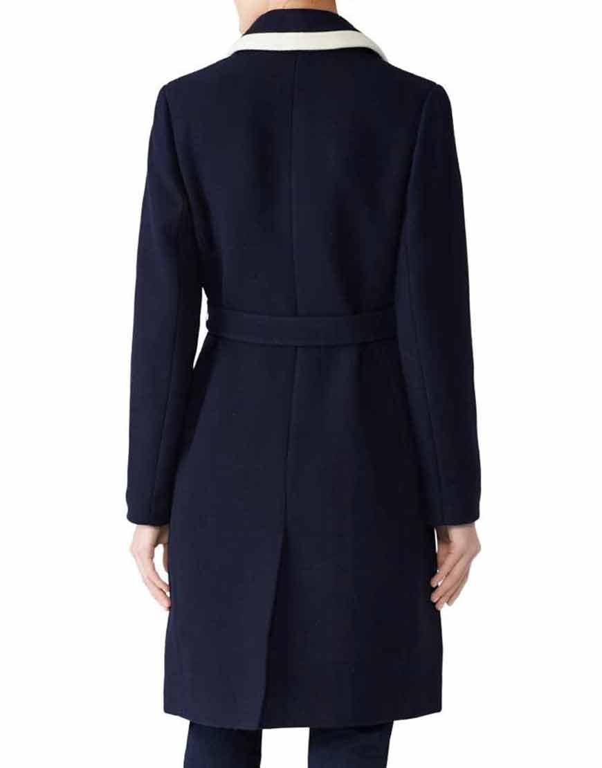 Meghan-Markle-Navy-Blue-Belted-Wrap-Coat