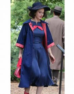 Miriam-Maisel-The-Marvelous-Mrs.-Maisel-Rachel-Brosnahan-Blue-Woolen-Coat