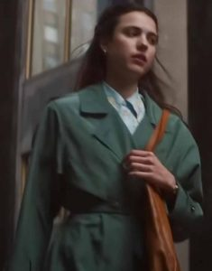 Movie-My-Salinger-Year-2021-Green-Cotton-Coat