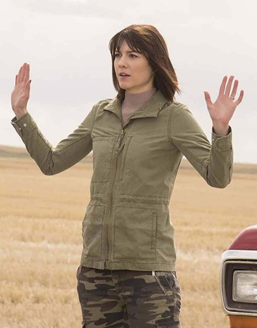Nikki-Swango-Fargo-TV-Series-Mary-Elizabeth-Winstead-Green-Jacket