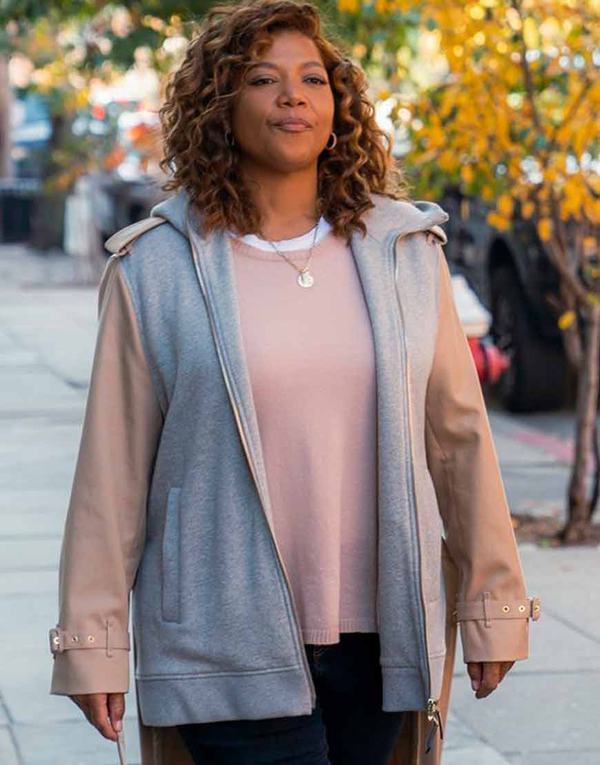 Queen-Latifah-TV-Series-The-Equalizer-Robyn-Mccall-Long-Tail-Jacket