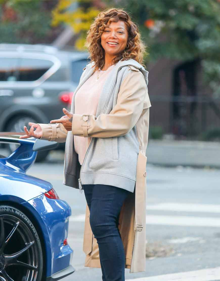 Queen-Latifah-The-Equalizer-2021-Robyn-Mccall-Long-Tail-Jacket