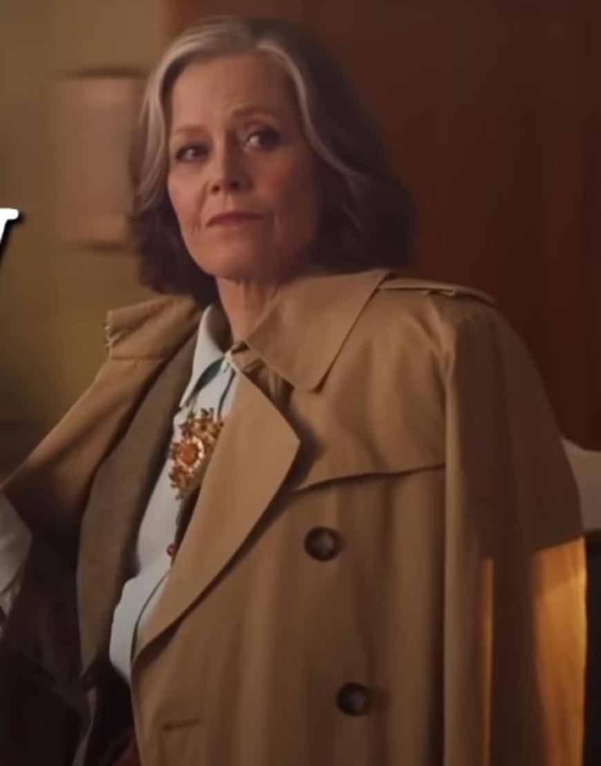 Sigourney-Weaver-My-Salinger-Year-2021-Double-Breasted-Coat