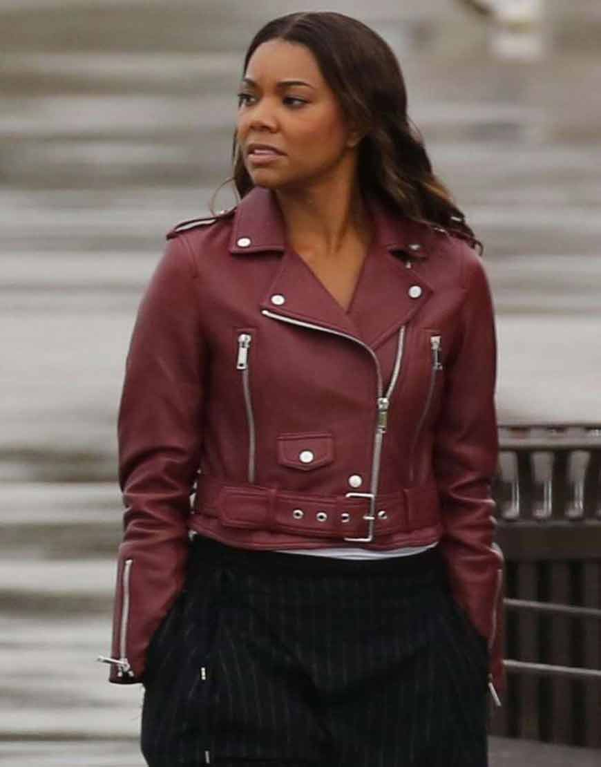 Sydney-Burnett-L.A.s-Finest-Gabrielle-Union-Leather-Jacket