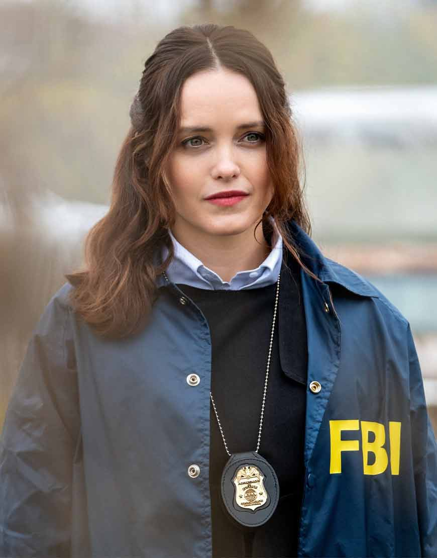 TV-Series-Clarice-2021-Rebecca-Breeds-Cotton-Jacket