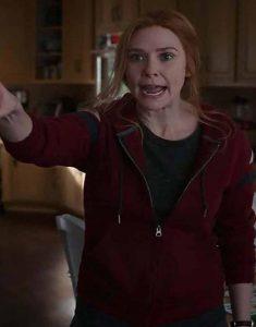 TV-Series-WandaVision-Elizabeth-Olsen-Red-Hoodie