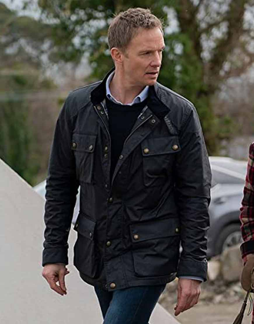 The-Drowning-2021-Rupert-Penry-Jones-Black-Leather-Jacket