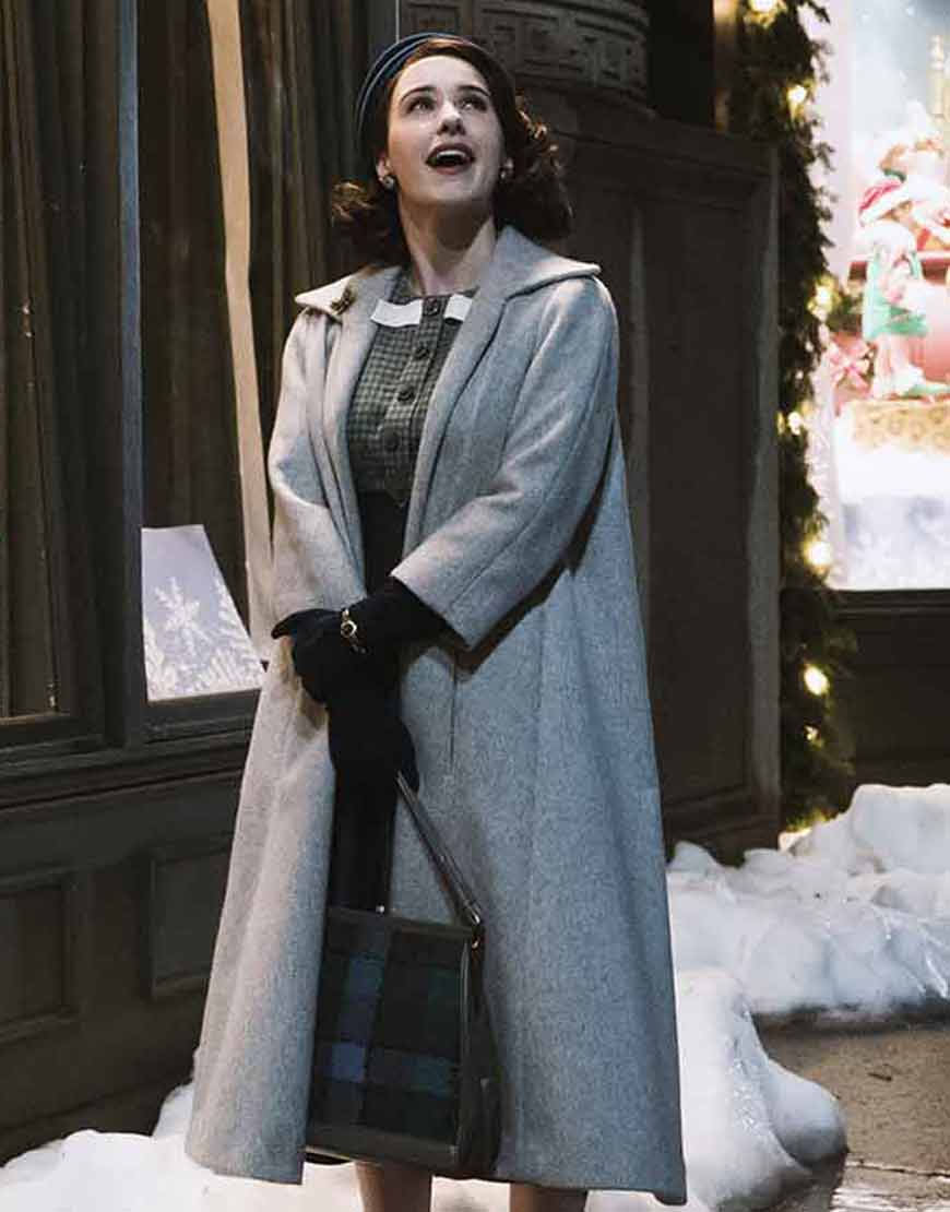 The-Marvelous-Mrs-Maisel-Miriam-Maisel-Grey-Long-Coat