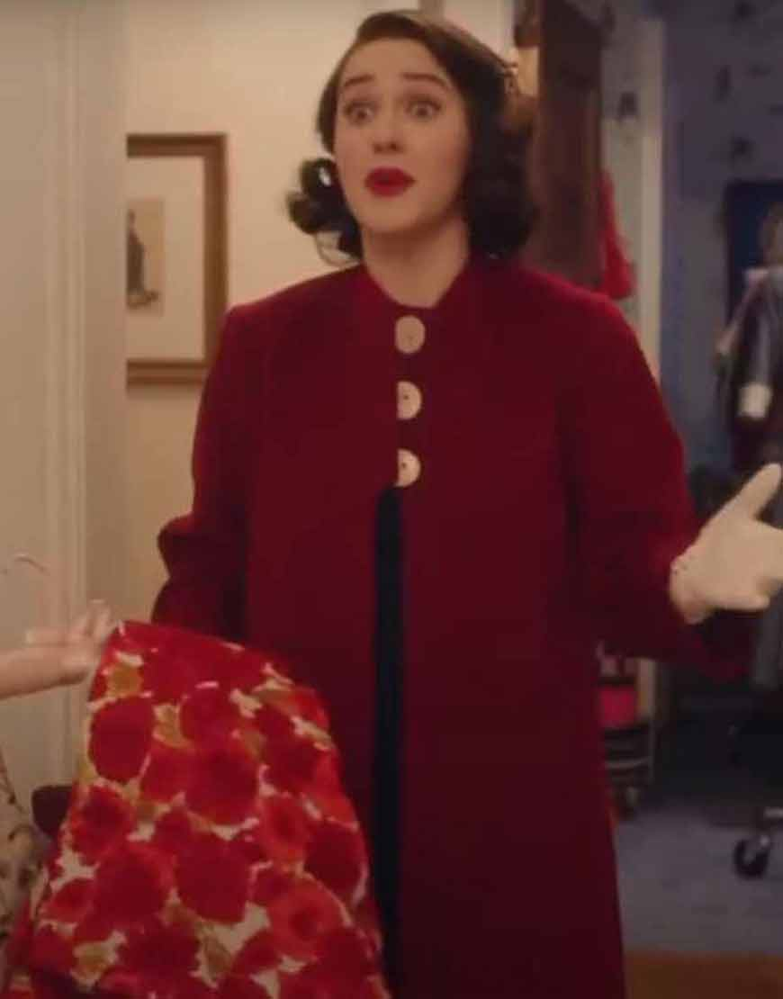 The-Marvelous-Mrs.-Maisel-Michael-Zegen-Red-Trench-Coat