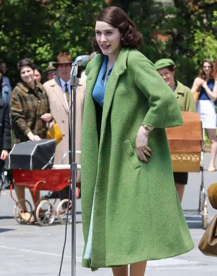 The-Marvelous-Mrs.-Maisel-Miriam-Midge-Maisel-Green-Long-Wool-Coat
