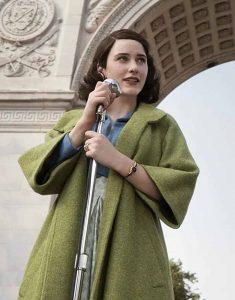 The-Marvelous-Mrs.-Maisel-Rachel-Brosnahan-Wool-Green-Trench-Coat