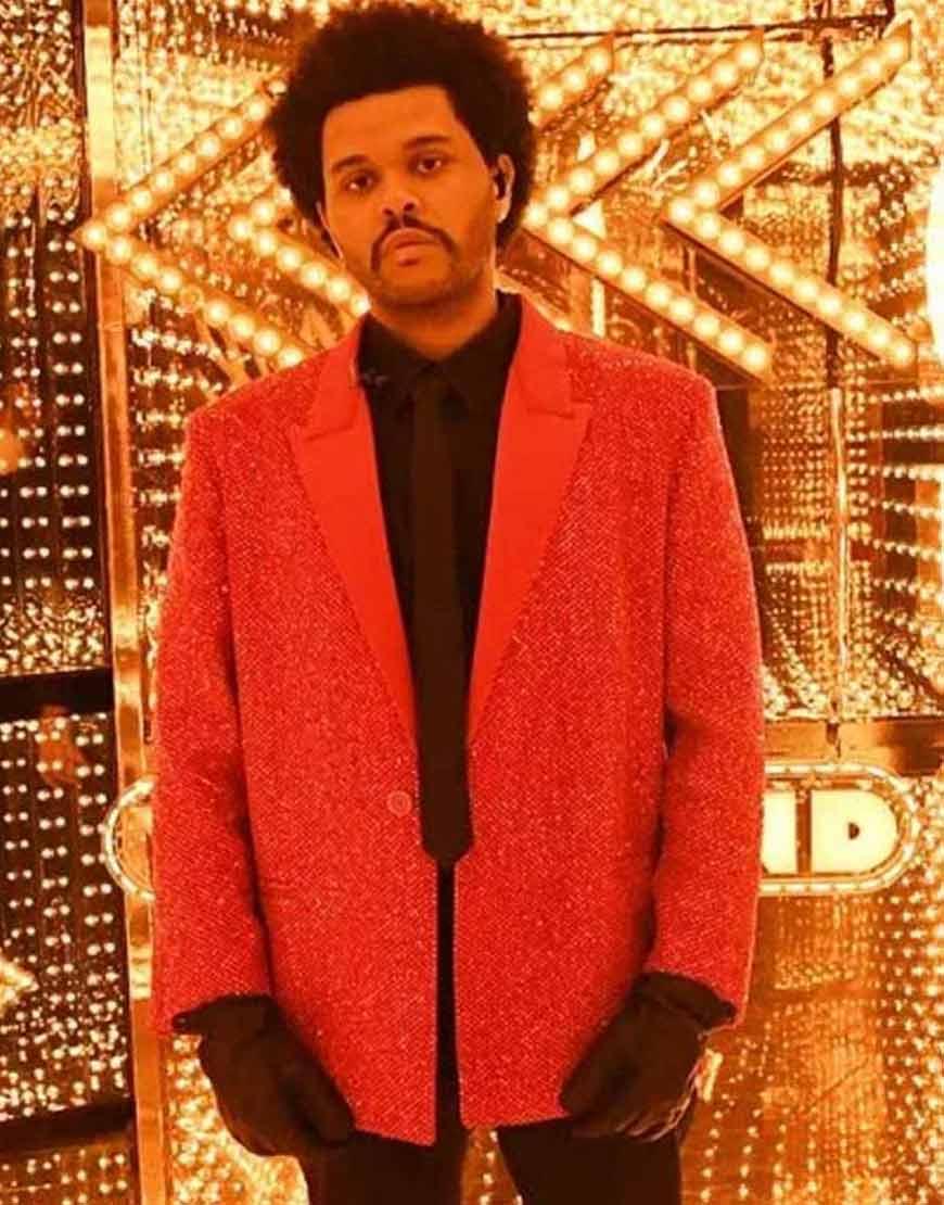 The-Weeknd-Super-Bowl-Red-Sequin-Blazer