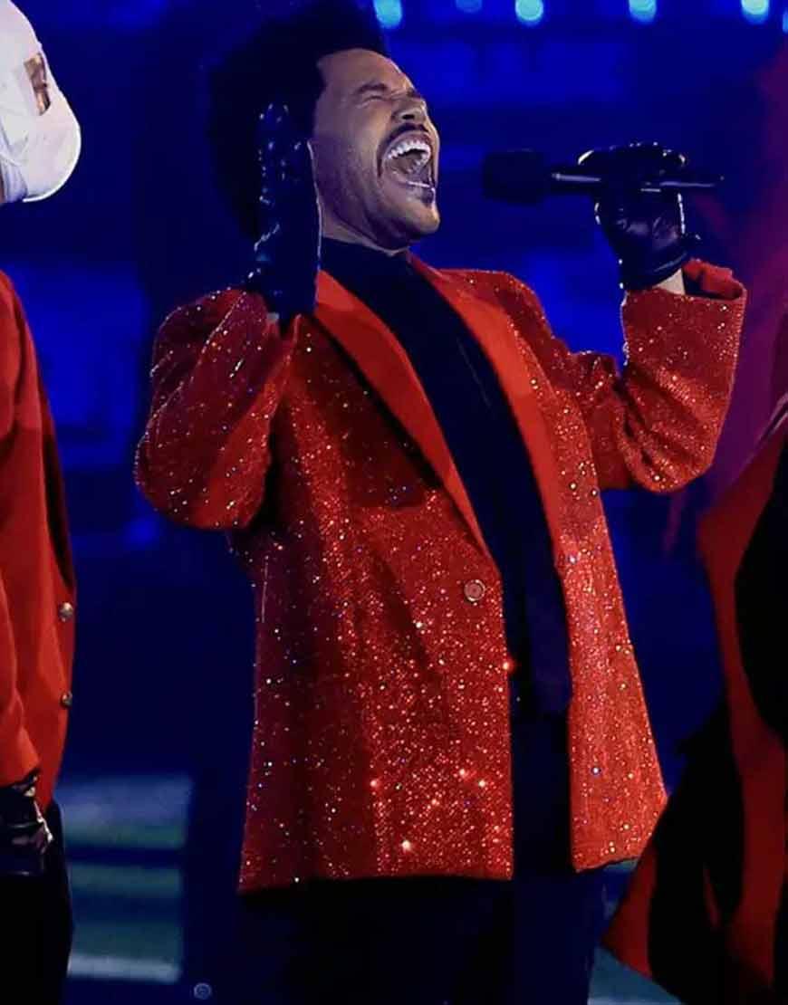 The-Weeknd-Super-Bowl-Red-Sequins-Blazer