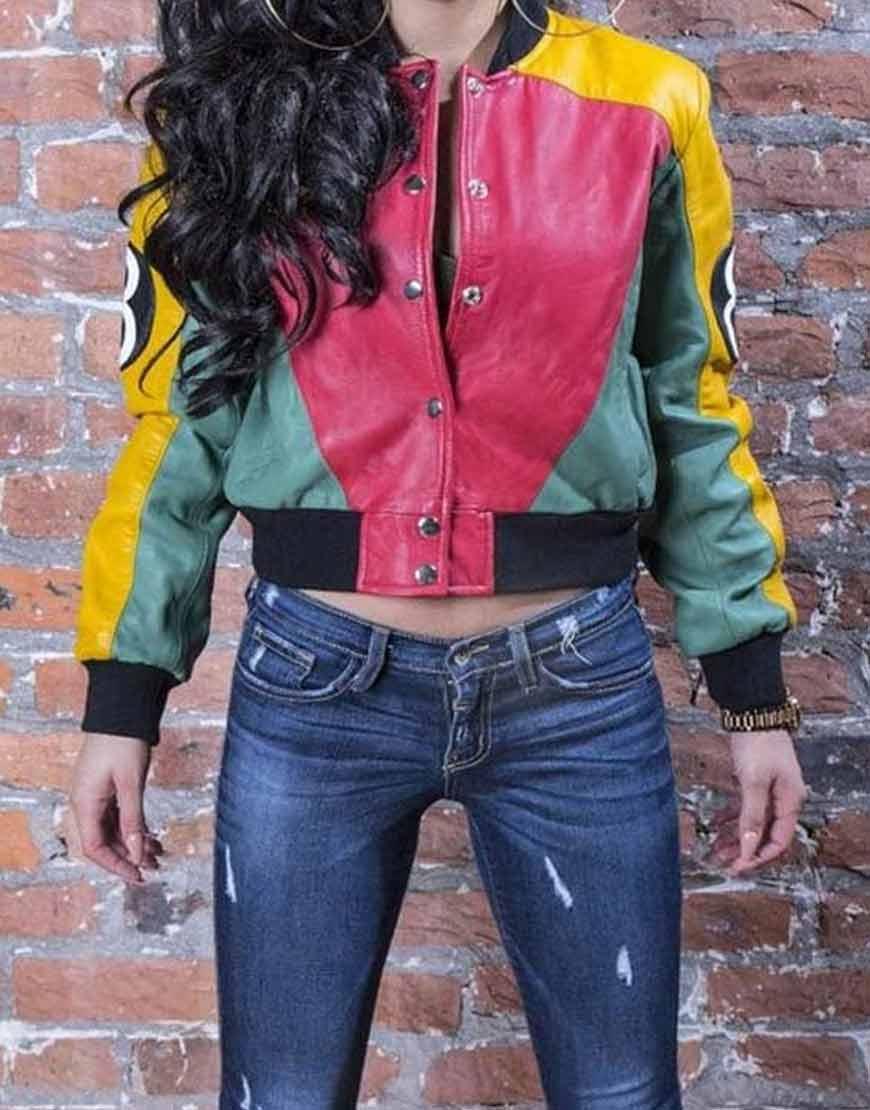 Womens-8-Ball-Pool-Stylish-Bomber-Leather-Jacket-1